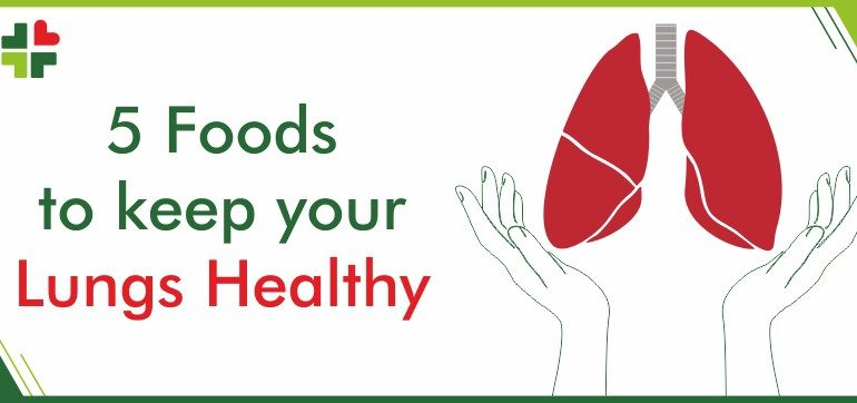 5 Foods to keep your lungs healthy
