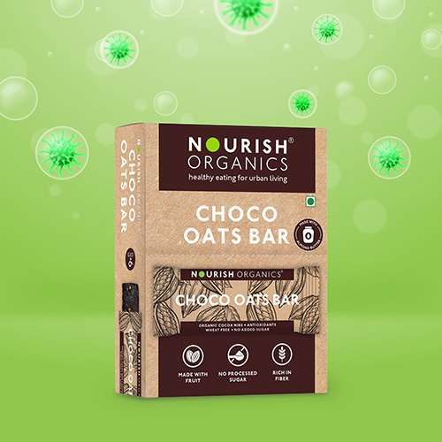 Nourish Health Bars Chocolate Oats