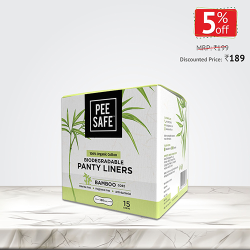 PEE SAFE PANTY LINERS